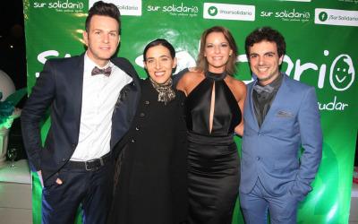Infobae: Famosos en la gala de Axel, Sur Solidario