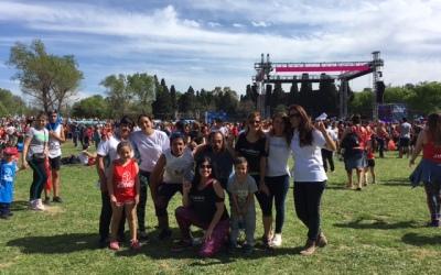 ¡Zumbathon solidario en el Parque de Lomas!