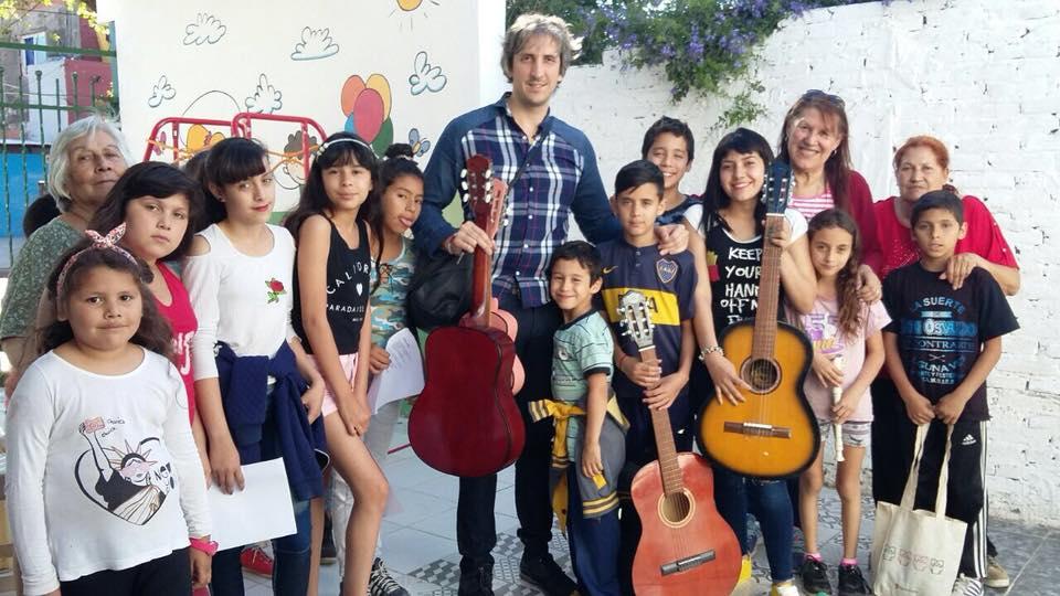 Música y Aprendizaje en las sedes